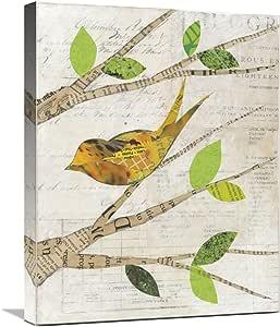 Global Gallery Courtney Prahl, Birds in Spring II 帆布艺术品,50.8 x 60.96 cm