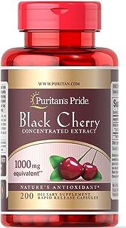 Puritan's Pride Black Cherry 1,000 mg -200 Capsules