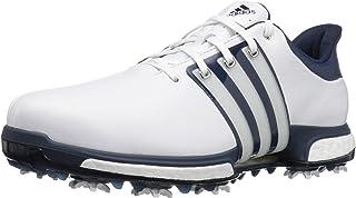adidas 男式 TOUR 360BOOST ftwwht / STD 高尔夫球鞋