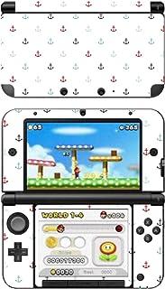 "Disagu SF 104164 _ 1040 任天堂3DS XL 设计皮肤 - 主题""小锚蓝色/透明红"