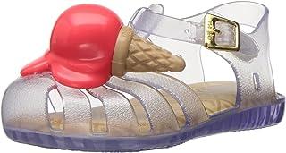 Mini Melissa Mini Aranha X Mary Jane 儿童平底鞋 Clear/orange 10 Regular US Toddler