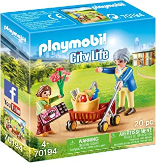 Playmobil 70194 City Life 玩具,角色扮演游戏,彩色,均码