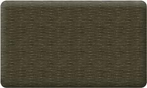Take Ten Anti-Fatigue Kitchen Comfort Mat Bamboo Weave Brownstone 18X30