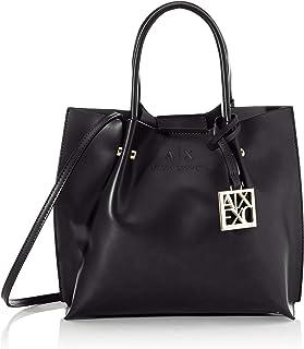 Armani Exchange 女士别致小号购物手提包,22x11x25 厘米