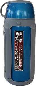 TIGER 虎牌 不锈钢真空保温旅行杯MHK-A15C-AQ蓝银色1.49L
