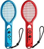 任天堂 Switch Joy-Con Controller KINGTOP 網球拍兩件裝網球拍,適用于任天堂切換游戲馬里奧網球拍