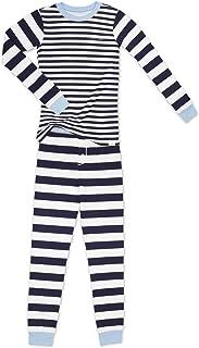 Calvin Klein 男童 2 件套睡衣长袖裤子套装
