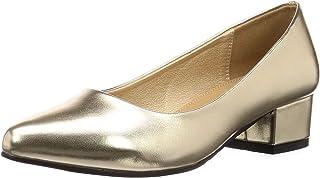[Revertidal] 尖头4cm粗跟美腿浅口鞋/5422 5422 女士