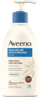 Aveeno 肌肤舒缓滋润乳 椰子 12盎司