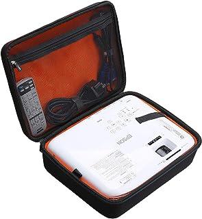 Mchoi 硬质便携式保护套适用于爱普生 VS250 SVGA HDMI 3LCD 投影仪(仅保护套)