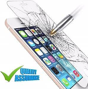 [ 高清透明 ] iphone 8/ 8PLUS / 7/ 7Plus / 6/ 6plus 屏幕保护 [ *品质 ] [ 日本材质 ] 9H 防撞击钢化玻璃 iPhone 6/6s Plus