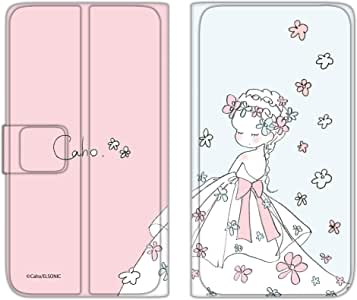 caho 翻盖保护套超薄翻盖印花婚礼手机保护壳翻盖式适用于所有机型  ウェディングC 1_ iPhone6 (4.7inch)