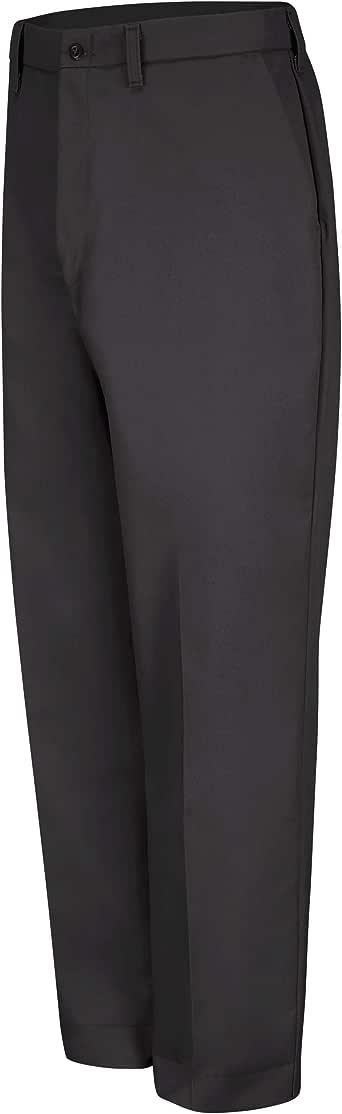 Red Kap 男式防皱常规版型斜纹混纺工作裤 炭黑色 32W x 32L