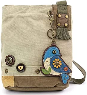Chala Patch 斜挎包手提包 - 沙子中的蓝色小鸟