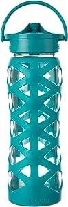 Lifefactory 水瓶 蓝色(Ultramarine) 22 盎司 0814943020304