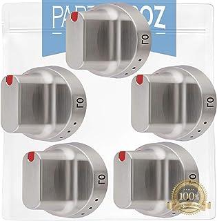 PartsBroz DG64-00347A(5 件装)微波炉拨号旋钮 - 兼容三星微波炉 - 替代 DG64-00472A,AP5949480,PS10058981