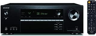 Onkyo TX-SR393(B) 5.2 通道 AV 接收器(olby/DTS: X, AccuEQ, AccuReflex, 4K, Bluetooth, 155 W/Channel) 黑色