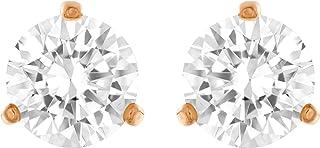 施华洛世奇女式透明玻璃时尚耳环