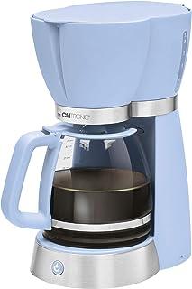 Clatronic Rock'n'Retro 过滤咖啡机 可制作15 杯 玻璃壶 滴水停止 自动关闭 蓝色