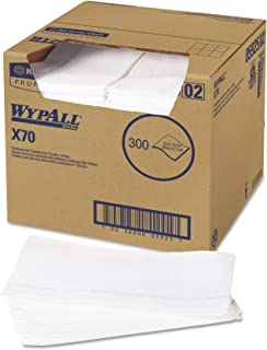 WYPALL 05925X 70wipers ,适用于 foodservice , kimfresh 抗菌,121/2W X 231/ 2D ,白色, ( Case OF 300)