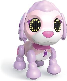 Zoomer Zupps 小狗,贵宾犬,猫砂 3 - 互动小狗与灯光、声音和传感器