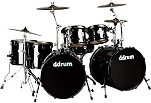 ddrum J2DD722 MB Journey 双低音 7 件套鼓套装,黑色