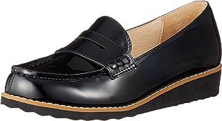 [双重 东方风格] 乐福鞋 厚底 搪瓷 学生 9607
