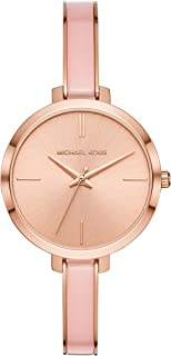 Michael Kors Women's Jaryn Rose MK4343 Rose-Gold Stainless-Steel Japanese Quartz Dress Watch