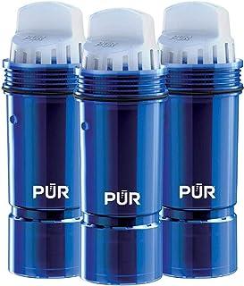 PUR PPF951K3减少铅的净水壶替换滤芯,三件,蓝色