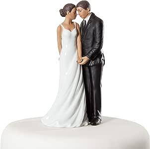 婚礼收藏版婚礼 Bliss 非裔美国婚礼蛋糕装饰