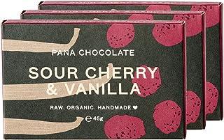 Pana Chocolate 巧克力棒,酸樱桃/香草,3件装