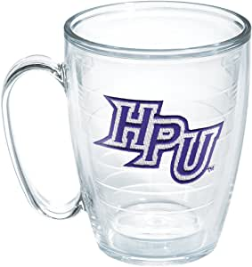 Tervis 1059883 High Point University Emblem Individual Mug, 16 oz, Clear