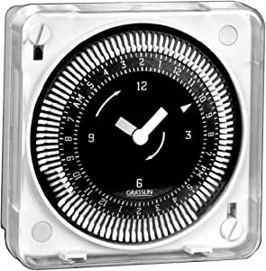 Intermatic MIL72ESWUZ-120 7-Day 120V Flush Mount Electromechanical Time Control