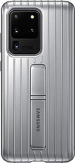 三星 Galaxy S20 Ultra 手机壳,官方坚固保护壳 - 银色