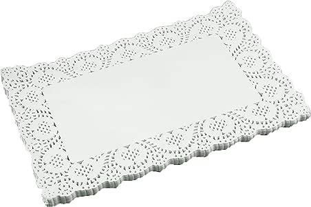 SCHOLMART 花卉米色白色纸巾适用于茶派对、生日或烘焙,浮雕图案 16.51 厘米、21.59 厘米、26.67 厘米(16.51 厘米)200 片 米色 10 x 13.5 Inch (Rectangular) Sch1041