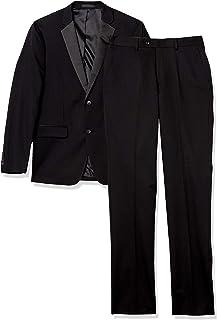 Perry Ellis 男式修身 2 件套燕尾服