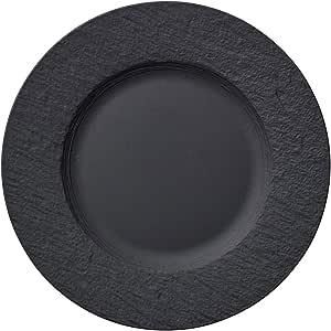 Villeroy & Boch 10-4239-2640 生产摇滚早餐盘,优质陶瓷,灰色