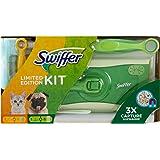 Swiffer 限量版套装(1 块地板擦拭和 8 块地板灰尘布和 1 块抹布) 1 件装