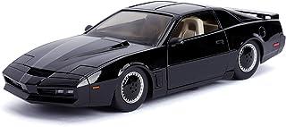 Jada 玩具汽车 1:24好莱坞轻骑骑士KITT与轻型庞蒂亚克Firebird 30086,黑色