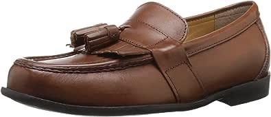 Nunn Bush Men's Keaton Moc Toe Kilty Tassel Loafer Slip-On Loafer Saddle Tan 9.5 D(M) US