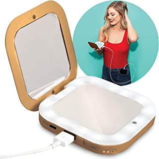Compact Mirror with Power Bank 3,000毫安時