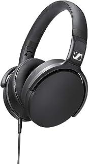 Sennheiser 森海塞爾 HD 400S 封閉式耳朵耳機,單按鈕智能遙控,可拆卸電纜