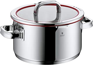 WMF cookware Ø 24 cm approx. 5,7l Function 4 Inside scaling lid - pour off or decant liquids without spilling to keep your...