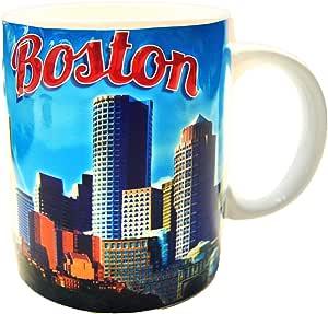 美国城市和州 311.84 毫升咖啡马克杯 波士顿 43235-132544