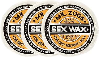 SEX 蜡(SEXWAX)蜡 冲浪用 经典 3个装