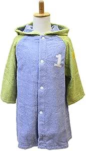 今治毛巾 浴袍 编号颜色 儿童 S 80-90 1.浅蓝色 MM0801-0450-44