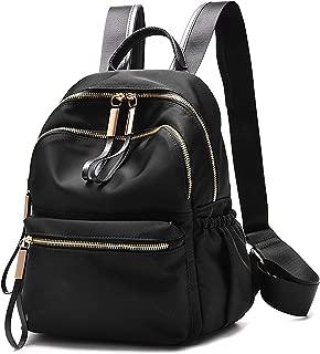 尼龙防水背包包 - 顶部提手帆布背包轻便耐用休闲书包 Fashion Backpack Yl04 Mid Size