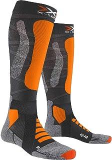 X-Socks 滑雪旅行银色 4.0 袜