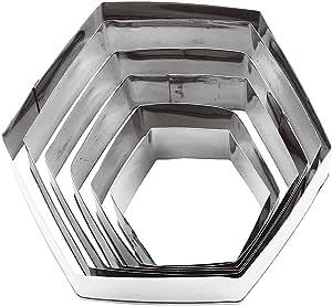 Paderno World Cuisine 六角形面团切刀 六角龙 6-Piece 47314-10