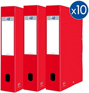 OXFORD 欧克莱卡 + 标准容量盒子 24 x 32 厘米 脊柱 60 毫米 带卡套 红色